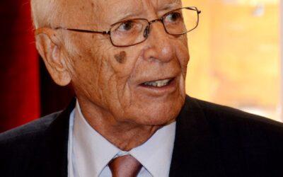 El académico Emilio Lledó dará nombre al salón de actos del edificio de Humanidades de la UNED